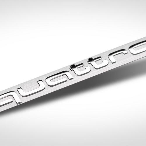 Elektroforming Quattro-Logo Interieur Dashboard