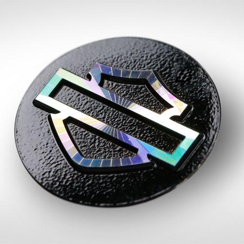 Elektroforming Emblem für Motorräder