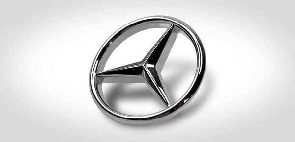 Druckguss Mercedes Stern Autoschlüssel