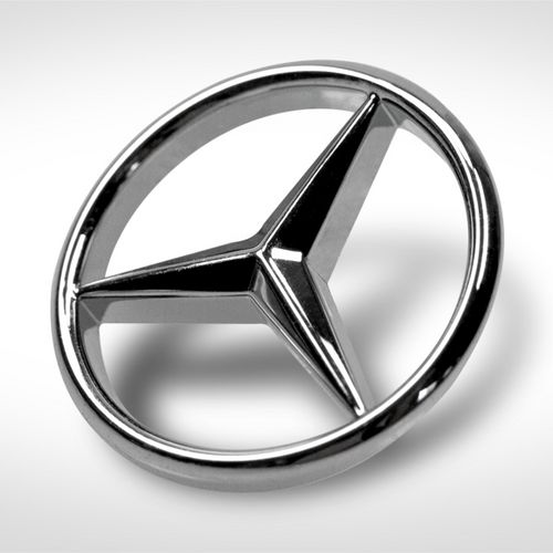 Druckguss Mercedes Stern