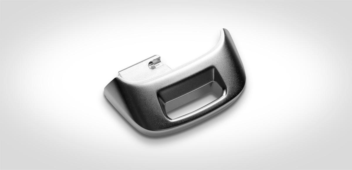 Bild: Druckguss Autoschlüssel, Audi-Logo