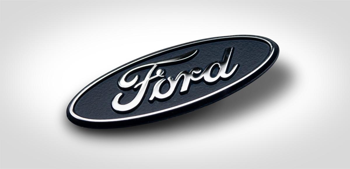 Elektroforming Logo Ford