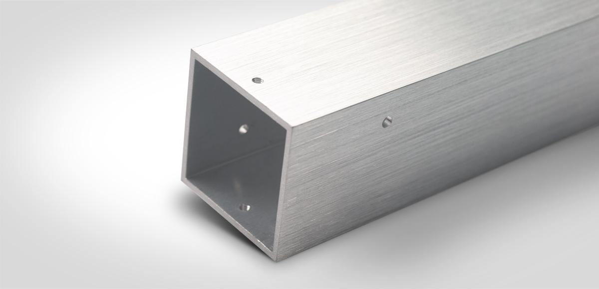 vierkant kühlprofil CNC